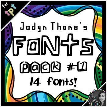 All JT Fonts