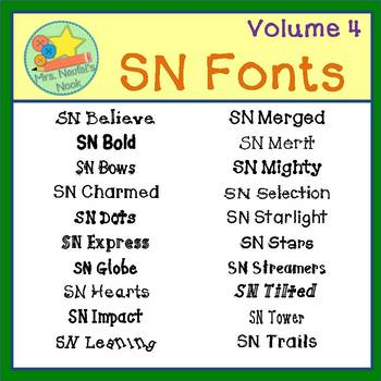 Fonts Personal and Commercial Use Volume 4