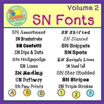 Fonts SN Volume 2