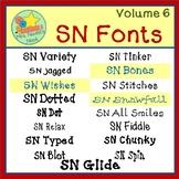 Fonts Volume 6