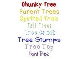 Fonts by The Learning Tree