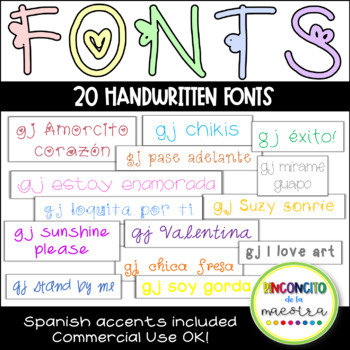 Fonts, fonts, and more fonts!! Personal and Commercial Use OK