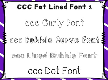 Fonts for Personal and Commercial Use