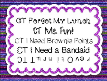 Fonts~Kids Say the Darndest Things, Cara Taylor