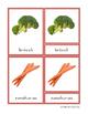 Montessori 3 Part Cards- Food - SPANISH La Comida