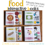 Food Adapted Books Following Directions (Left / Right and