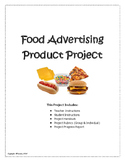 Food Advertising, Label Reading, Ingredient List in One Project!
