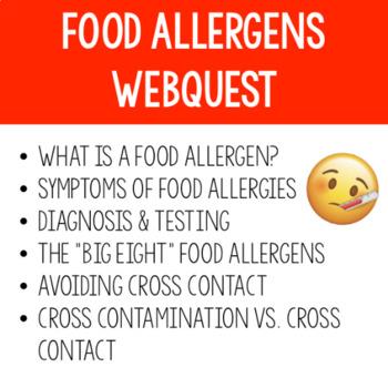 Food Allergens Webquest