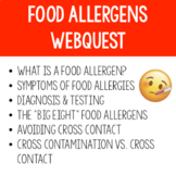 Food Allergens Webquest