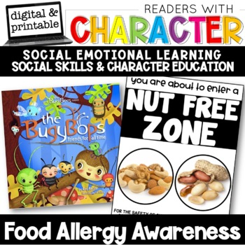 Food Allergy Awareness - Character Education | Social Emotional Learning SEL