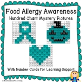 Food Allergy Awareness Teal Pumpkin Project Hundred Chart Mystery Pictures