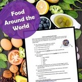 Food Around the World- Culture and Foods Research Project