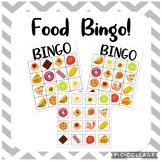 Food BINGO Board!