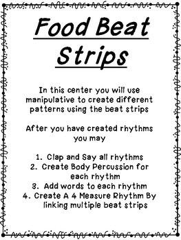 Food Beat Strips