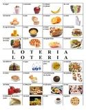 Food Bingo - La loteria de comida