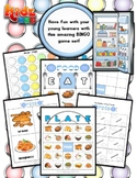 Food Bingo / Matching Activity