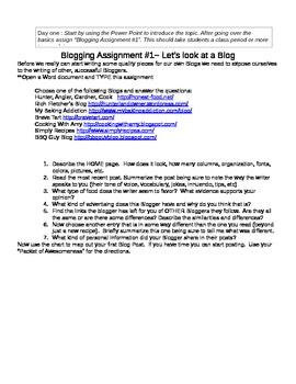 FCS Food Blogging