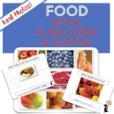 Food Book, Flash Cards, & Sorting