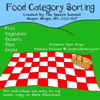Food Category Sorting