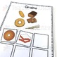 Food Category Sorting Cards