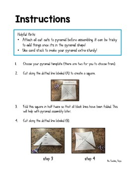 Food Chain Pyramid 3D Activity
