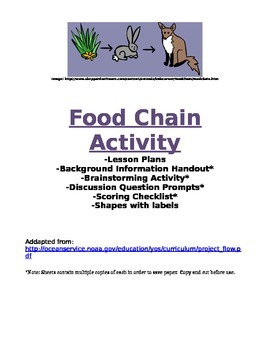 Food Chain Activity