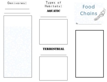 Food Chain Brochure