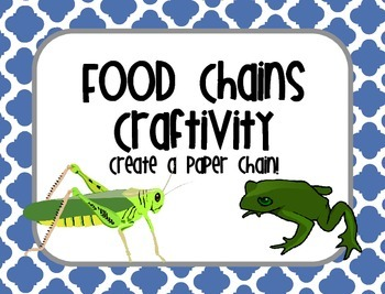 Food Chain Craft {Create a Paper Chain}