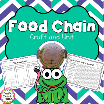 Food Chain: Craftivity and Printables