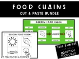Food Chain Cut and Paste (20 food chains)