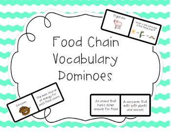Food Chain Dominoes