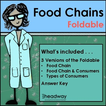 Food Chain Foldable