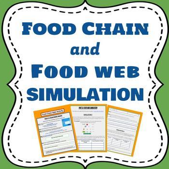 Food Chain & Food Web Simulation
