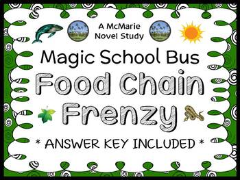Food Chain Frenzy (Magic School Bus) Novel Study / Comprehension  (28 pages)