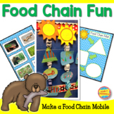 Food Chain Fun - Craftivity, Food Chain Games and Research Pages