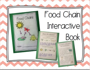 Food Chain Interactive Book
