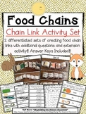 Food Chain Links Activity Set