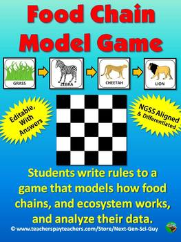 Food Chain Model Game - NGSS