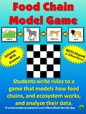 Food Chain Model Game: Model How Food Chains & Ecosystems Function - NGSS