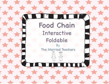 Food Chain Science Interactive Foldable
