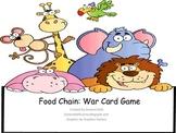 Food Chain War Card Game