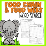 Food Chain Word Search