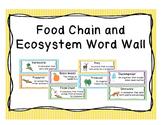 Food Chain Word Wall