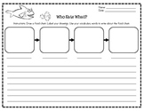 Food Chain Writing Activity (English & Spanish)