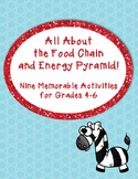 Food Chain and Energy Pyramid Activities Pack