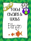 Food Chain and Food Webs Bingo!