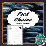 Food Chains Word Search Distance Learning