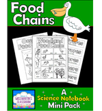 Food Chains: A Science Notebook Mini Pack