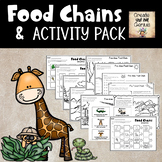 Food Chains Activities Pack