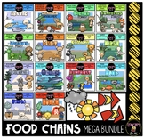Food Chains Clip Art Mega Bundle {Educlips Clipart}